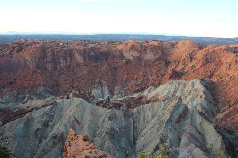 Upheaval Dome - a 170 million year old crater that some think was created by a meteor