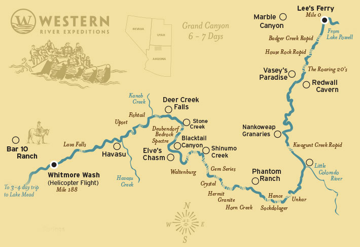 Maps Grand Canyon National Park US National Park Service Plan